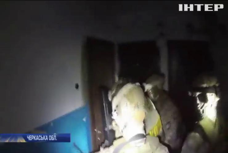 Поліція спіймала підривників банкомату на Черкащині