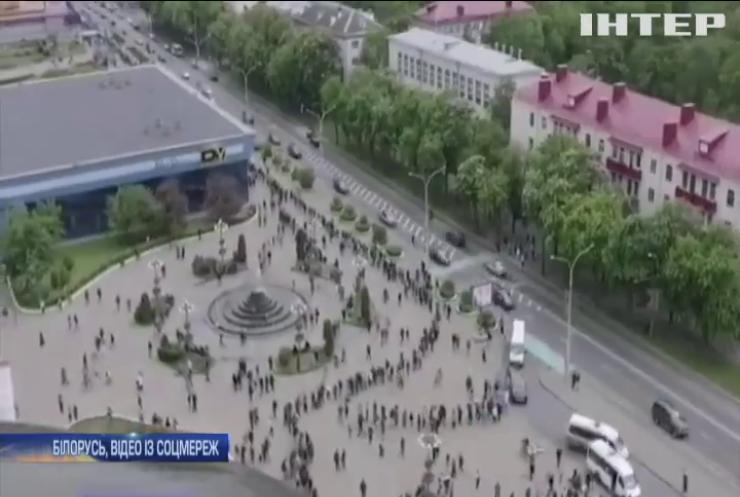 У Білорусі протестують проти затримання опозиціонерів