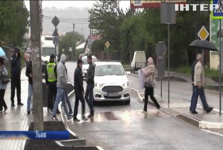 Залиште наші гроші: селяни протестують проти об'єднання зі Львовом