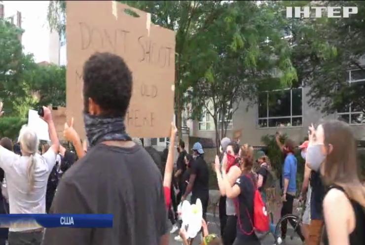 У США не вщухають протести: кількість постраждалих збільшується