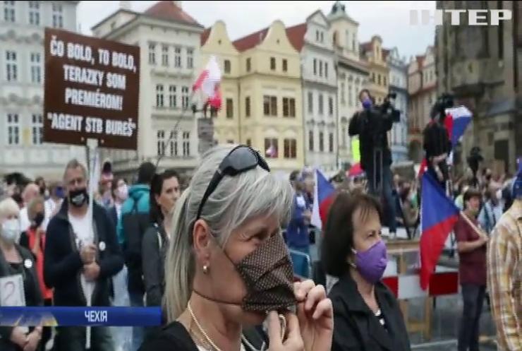 Чехію сколихнули антиурядові протести
