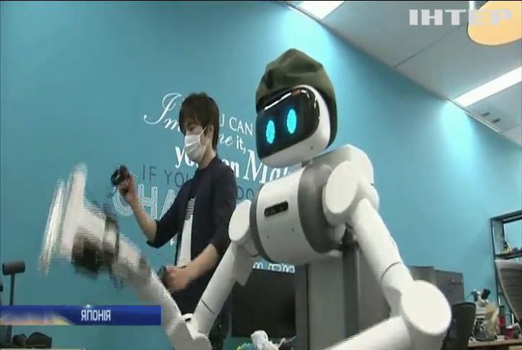 Японія створила робота-дезінфікатора