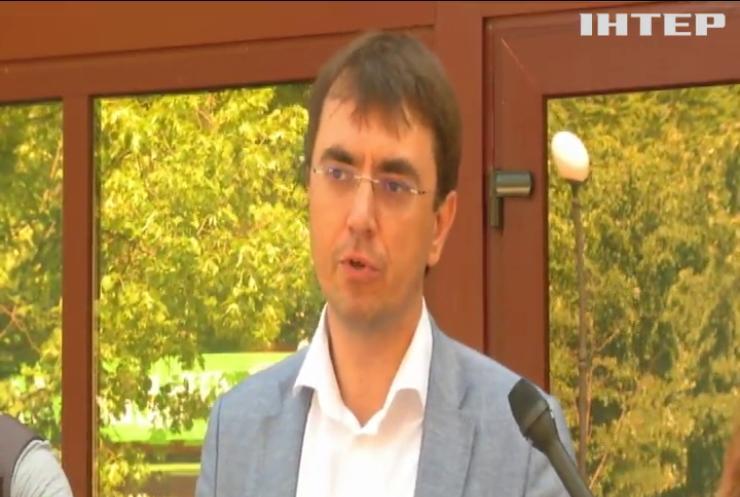 ДБР провело обшуки у ексміністра Володимира Омеляна