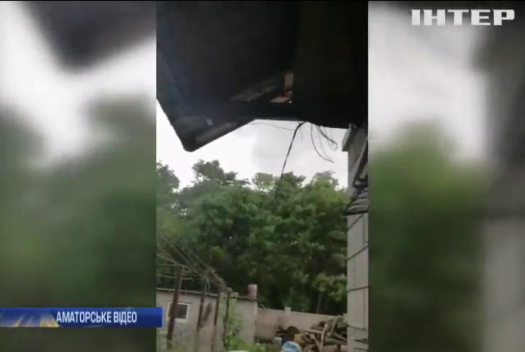 Потужний буревій накоїв лиха на Дніпропетровщині