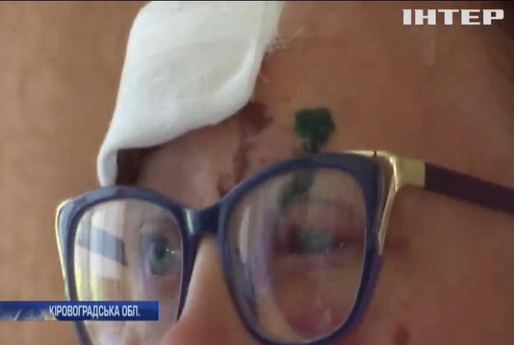 Кульова блискавка атакувала мешканців житлового будинку на Кіровоградщині