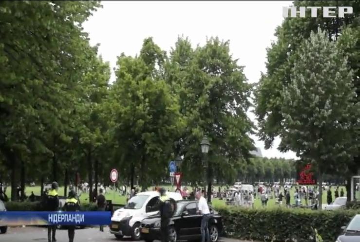 У Нідерландах противники карантину побилися із поліцією