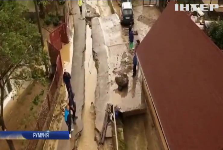 Дощі в Румунії затопили десятки сіл та містечок