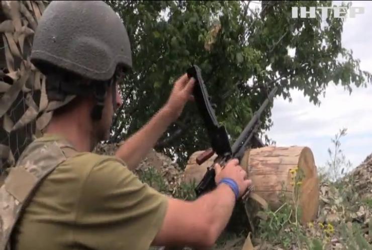 На Донбасі за добу зафіксували п'ять обстрілів за добу