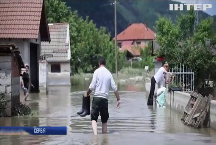 У Сербії запровадили надзвичайний стан через повені