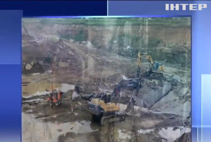 СБУ накрила незаконний видобуток граніту на Житомирщині