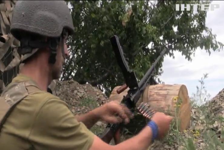 На Донбасі фіксують ворожі обстріли