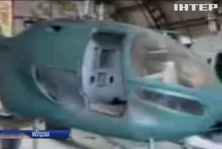 У Молдові виявили підпільний вертолітний завод