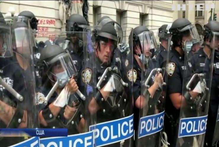 Бюджет поліції Нью-Йорка урізали на мільярд доларів