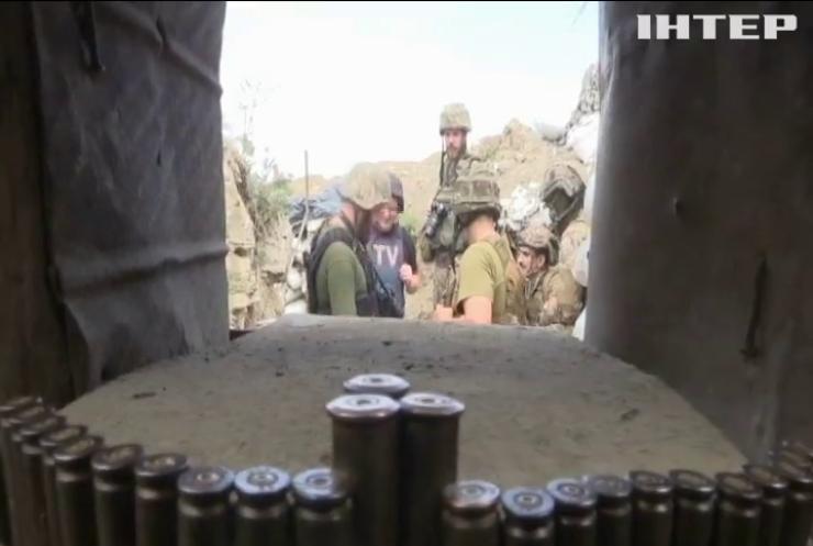 На Донбасі противник за добу чотири рази порушив тишу