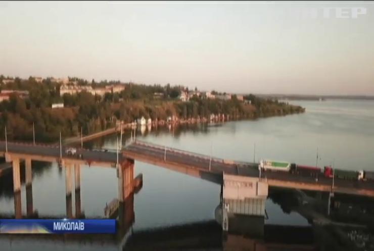 У Миколаєві на світанку сам собою розвівся Інгульський міст