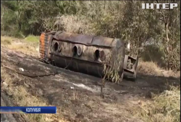 Крадіжка палива у Колумбії закінчилась вибухом і масовими смертями
