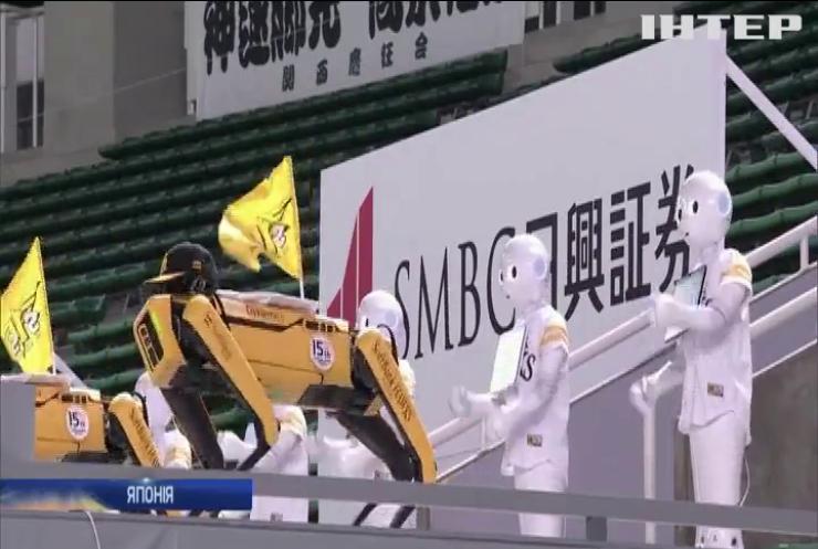 У Японії на бейсбольному матчі черлідерами стали робопси