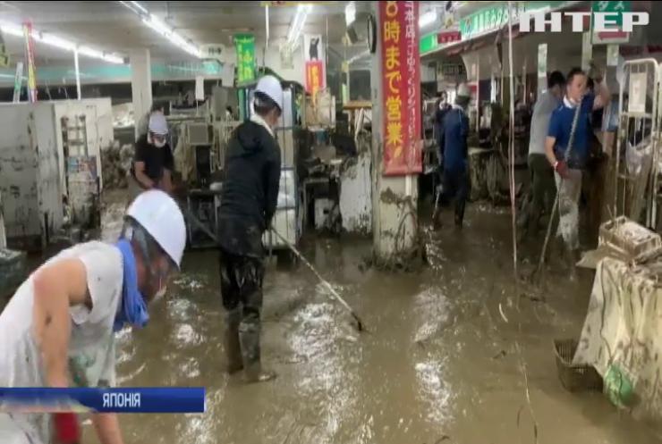 У Японії продовжуються зливи: 63 людини загинули