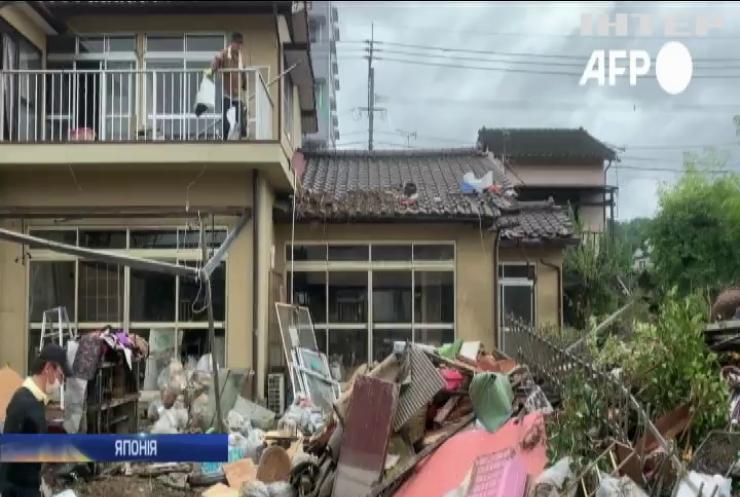 Японія страждає від масштабних підтоплень