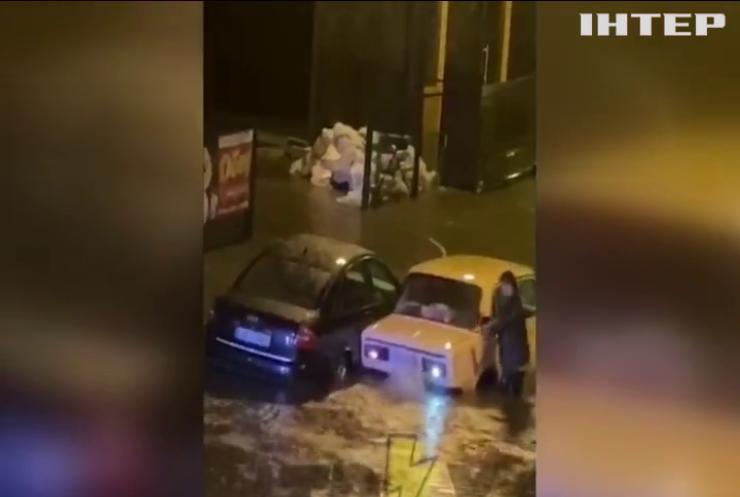 У Харкові випала півторамісячна норма опадів