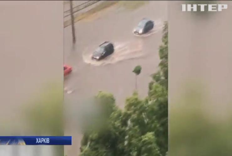 У Харкові за добу випала півторамісячна норма опадів