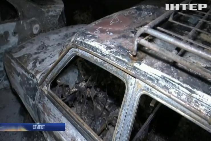 В Єгипті вибухнув трубопровід: десятки авто згоріли
