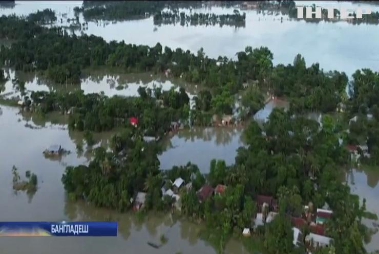 Бангладеш затопило на третину: мільйон людей відрізало від світу