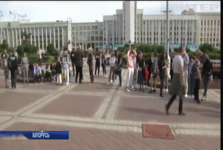 У Білорусі затримали сотні протестувальників