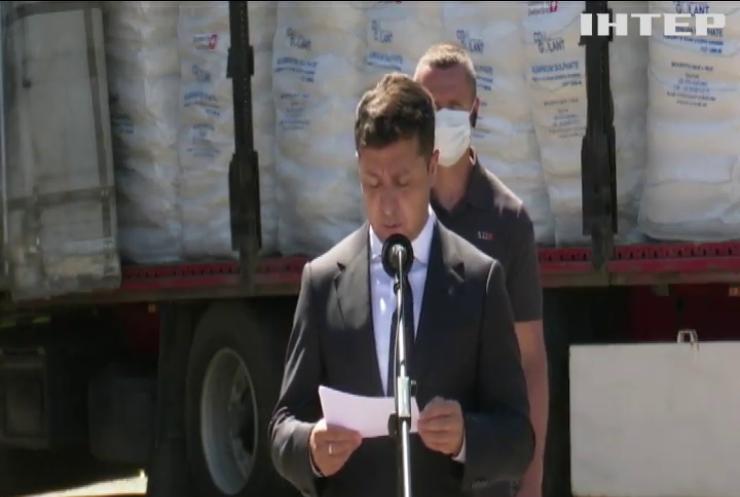 Володимир Зеленський та президент Швейцарії побували на Донбасі та обговорили важливі питання