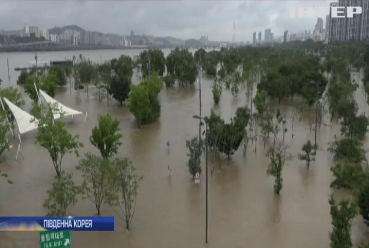 Південну Корею заливає дощами: синоптики обіцяють новий тайфун