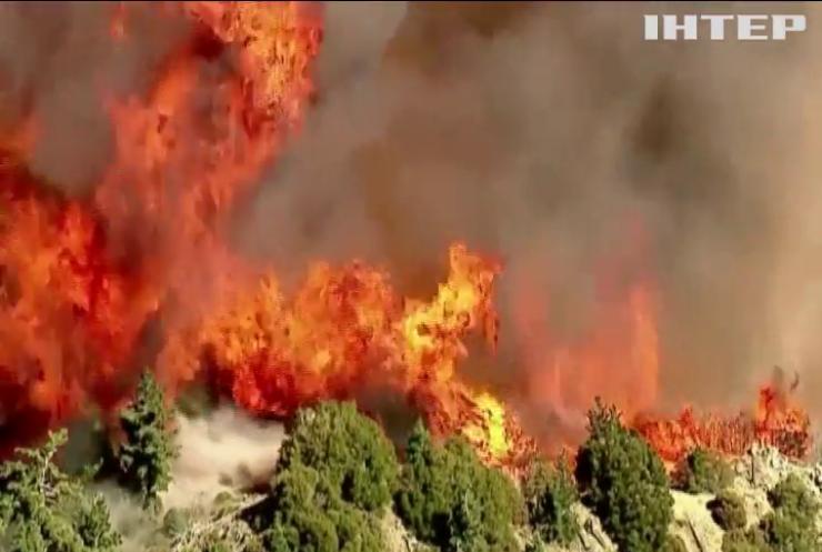 У Каліфорнії евакуювали тисячі людей через лісові пожежі