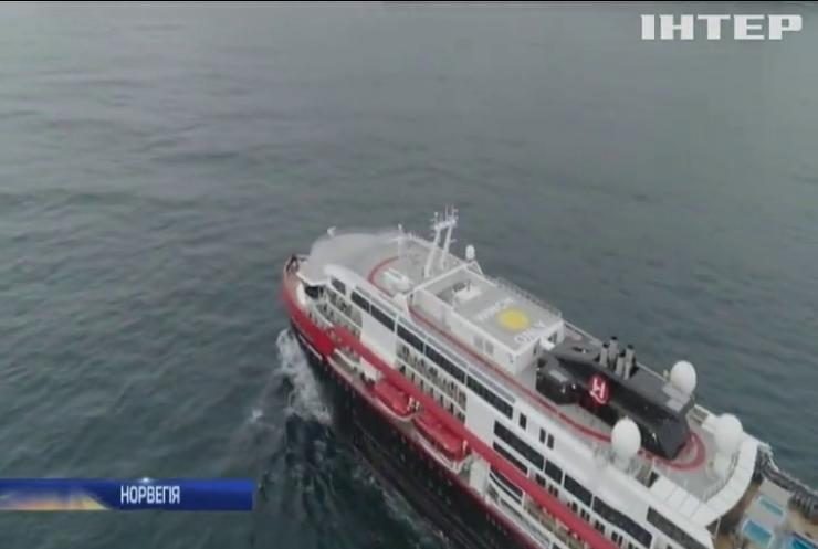 Норвегія не пускатиме на берег пасажирів круїзних лайнерів