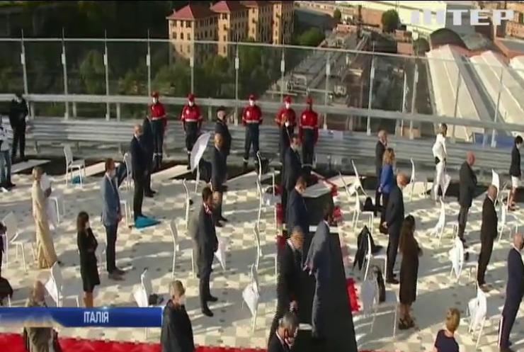 У Генуї торжественно відкрили новий міст