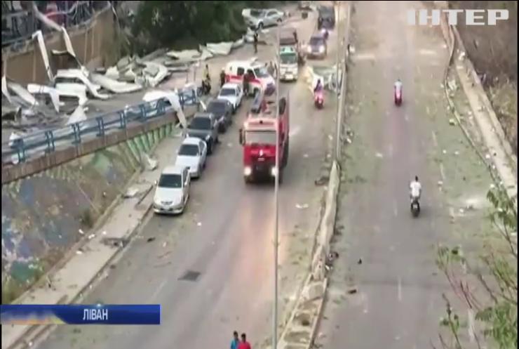 Вибух у Бейруті: у повітря злетіли тонни аміачної селітри