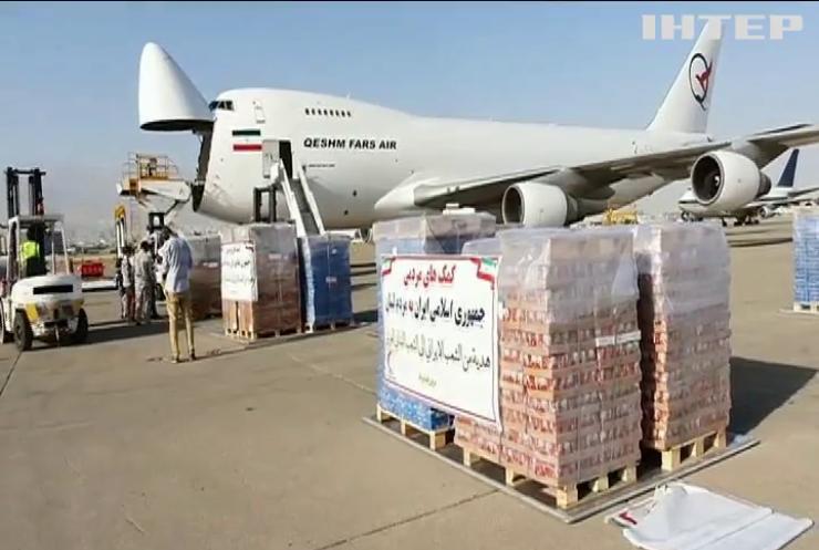 Ліван отримав гуманітарну допомогу від Ірану