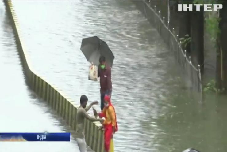 В Індії випала рекордна кількість опадів