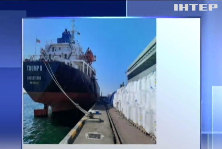 В Одеському порту зберігається селітри втричі більше, ніж у Бейруті