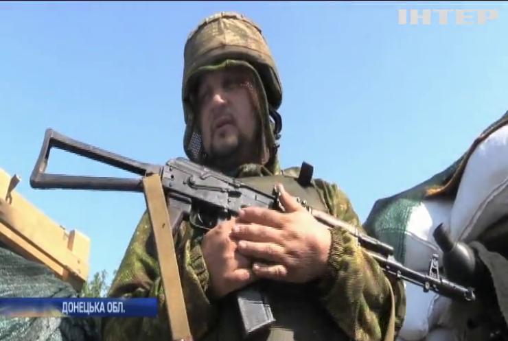 Війна на Донбасі: бойовики ігнорують режим припинення вогню