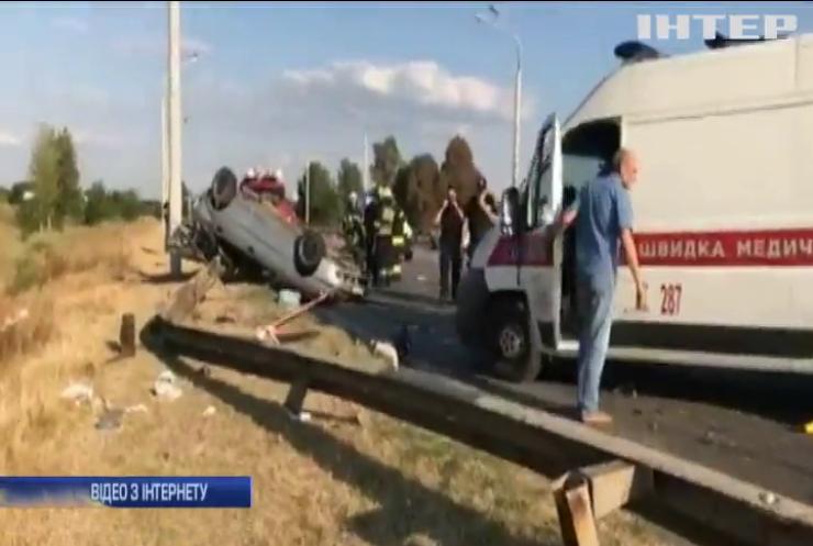 Моторошна аварія на околиці Дніпра: загинула дворічна дитина