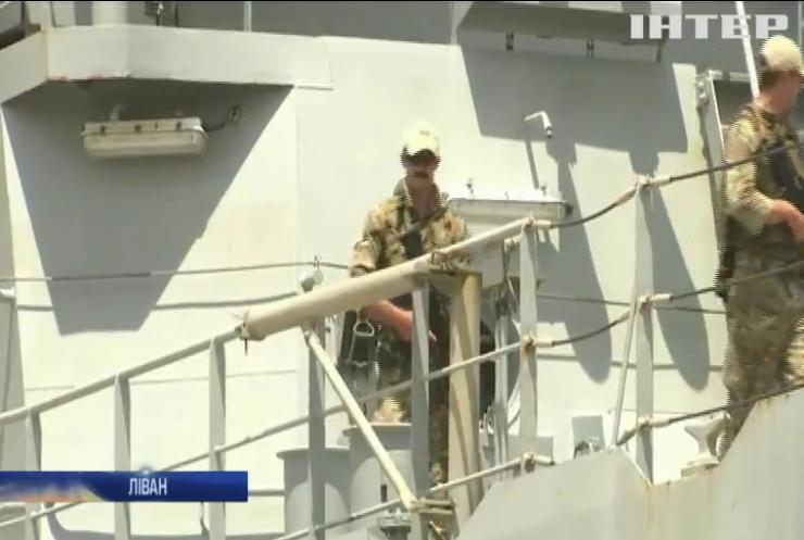 Британський корабель доставив у Бейрут гуманітарну допомогу
