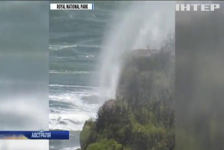 В Австралії водоспади потекли у зворотному напрямку