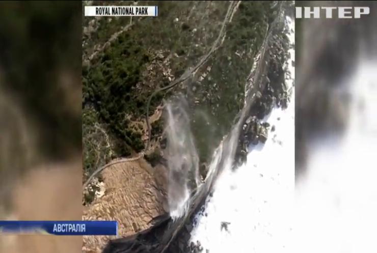 Водоспади повернули назад: в Австралії зафільмували незвичайне природне явище