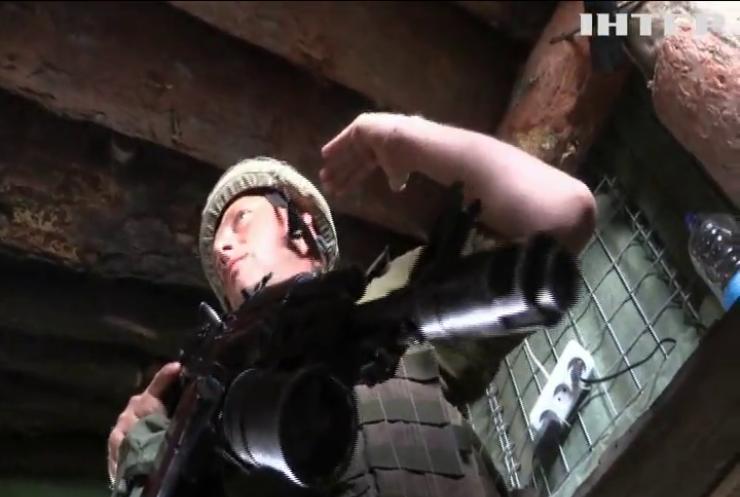 На Донбасі противник укріплює позиції