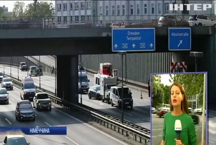 У Німеччині ісламіст влаштував масштабну аварію на автобані