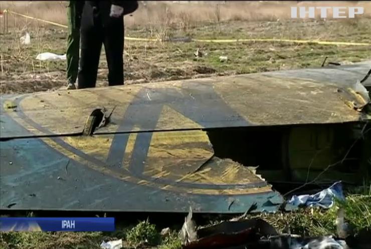 """Іран оприлюднив дані """"чорних скриньок"""" зі збитого літака МАУ"""
