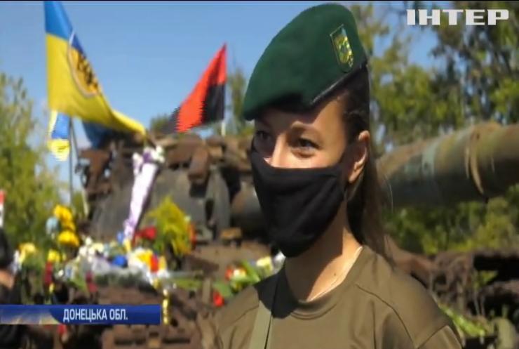 У День пам'яті захисників поблизу Донецького аеропорту відкрили меморіальний комплекс