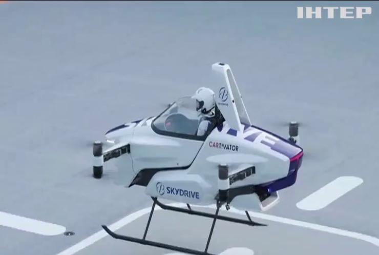 Літаючий автомобіль здійснив перший політ з людиною на борту
