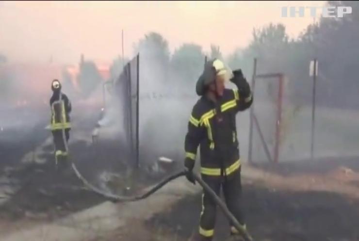 На Луганщині під час гасіння пожежі загинув військовослужбовець
