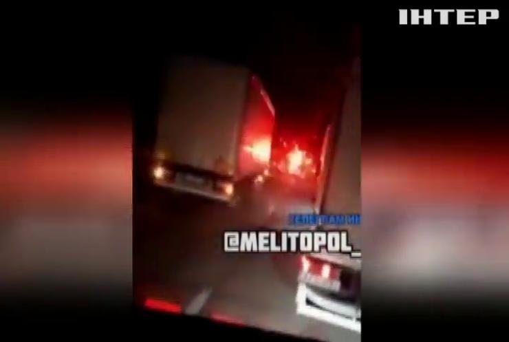 В Запорізькій області обстріляли вантажний мікроавтобус