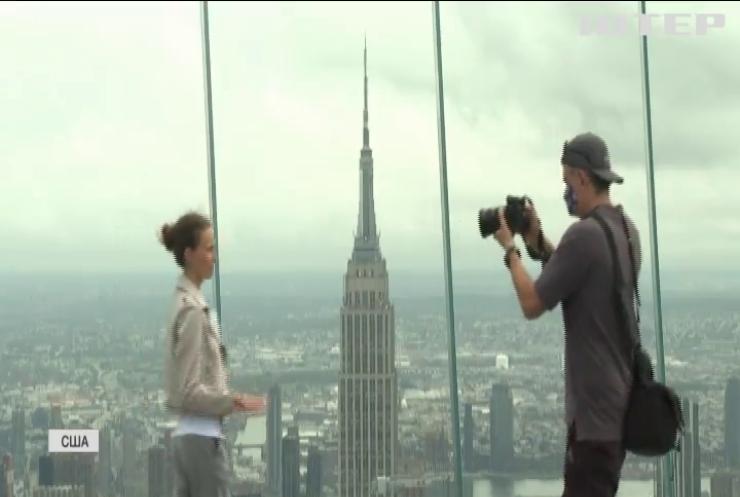 З висоти пташиного польоту: у Нью-Йорку відкрили найвищий оглядовий майданчик Америки (відео)
